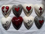 Expressions-Giftware-and-Collector-Hearts-Range-Ceramic-Hearts-nz