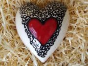 Heart-lace-Ceramic-wall-Heart