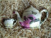 Ceramic-Decoupage-Teapot-Life-Size-Antique-Rose