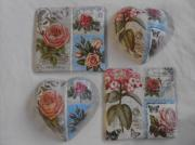 Hearts and Tiles Vintage