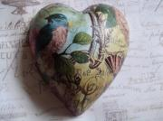 Flora-Bird-1-Pure-Ceramic-Decoupage-Heart