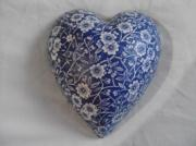 Vintage-Calico-Pure-Ceramic-Decoupage-Heart-