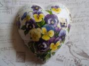 1-Romantic-Violets-Pure-Ceramic-Decoupage-Heart