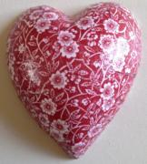 Calico-Red-Pure-Ceramic-Decoupage-Heart-