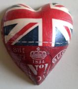 British-Pure-Ceramic-Decoupage-Heart-